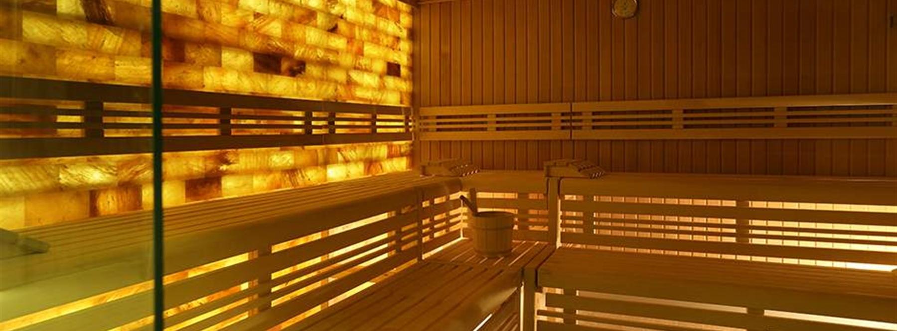 Himalayan Salt Wall Sauna